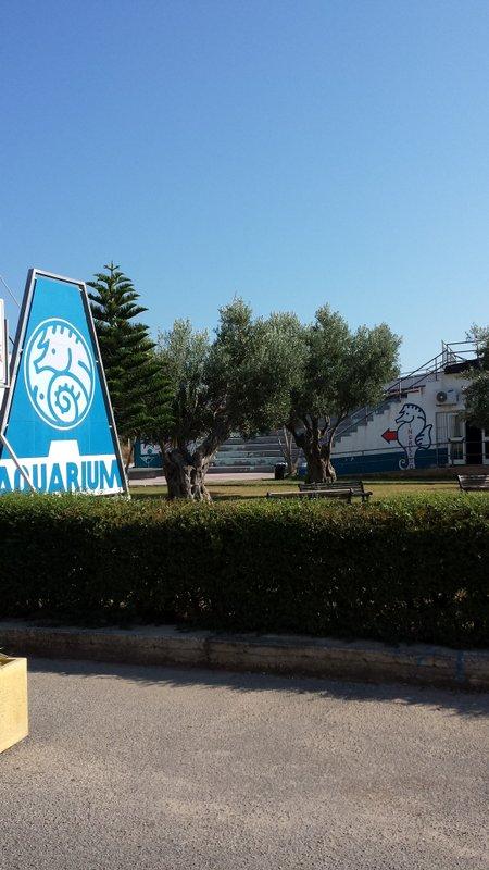 Aquarium dell'area marina protetta di Capo Rizzuto